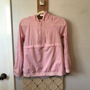 Lululemon Jacket Pack Light Pullover Size 6* Small* Porcelain Pink Packable